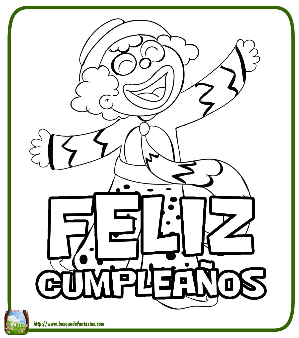 Dibujos Infantiles De Cumpleaos Orthokeratologytop
