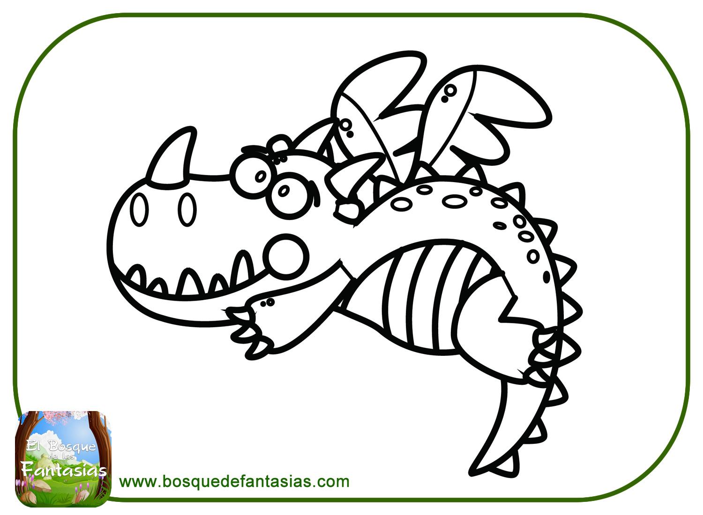 99 DIBUJOS DE DRAGONES Bonitos Dragones Para Colorear Y