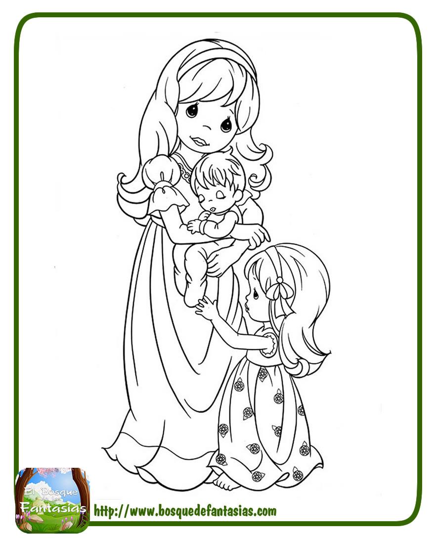 Imagenes Para Dibujar Del Dia De La Madre A Color