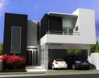 Imágenes bonitas de fachadas de casas modernas