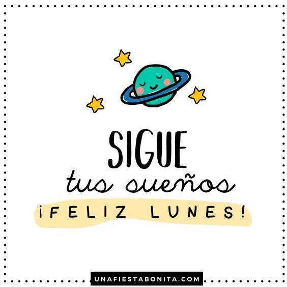 Imágenes con Frases de Buenos Días Lunes para Dedicar