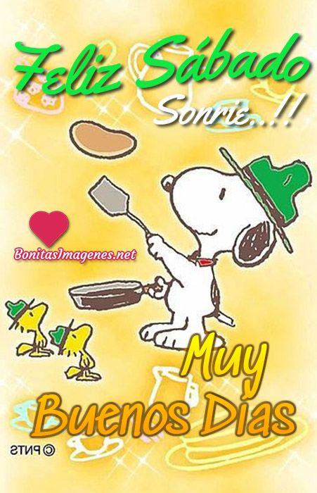 Buenos Días Snoopy Imágenes Con Mensajes
