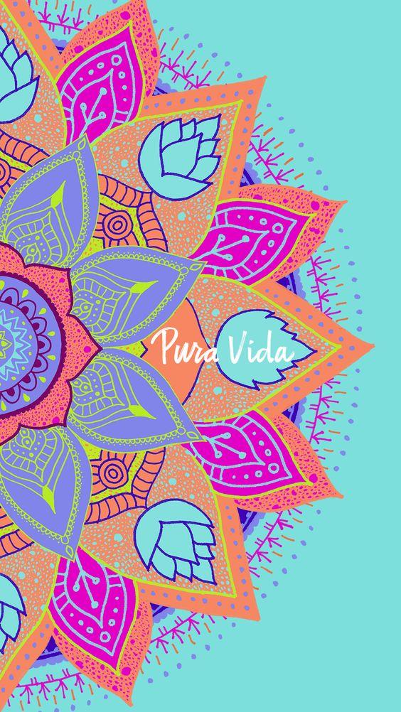 Fondos de Pantalla Mandalas Para Celular de Colores