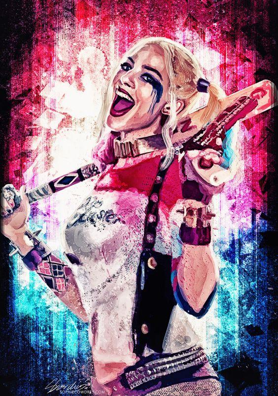 Fondos de Pantalla del Guason y Harley Quinn para Celular