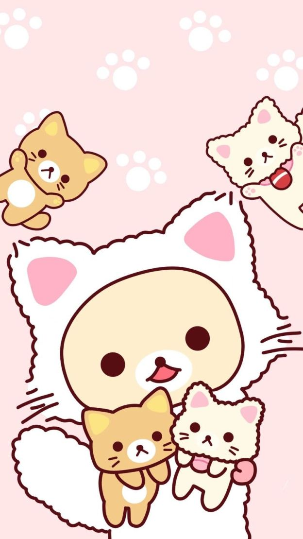 Wallpapers Fondos de Pantalla de Gatos Kawaii Tiernos HD