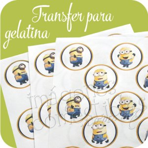 Transfer para gelatina