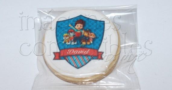 Galletas decoradas con Hojas de azúcar