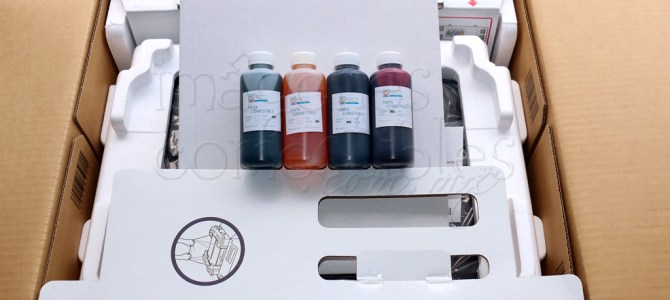 Sistema de impresión comestible Canon