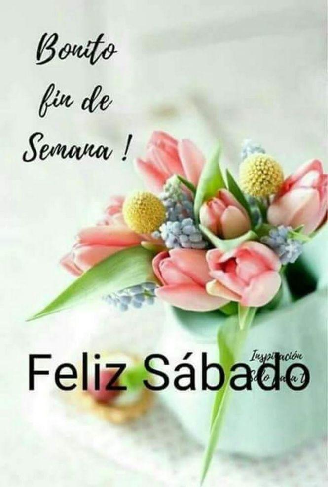 Buenos Días Feliz Sábado