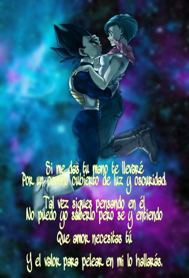Frases de Vegeta Tristes y de Amor con Bulma