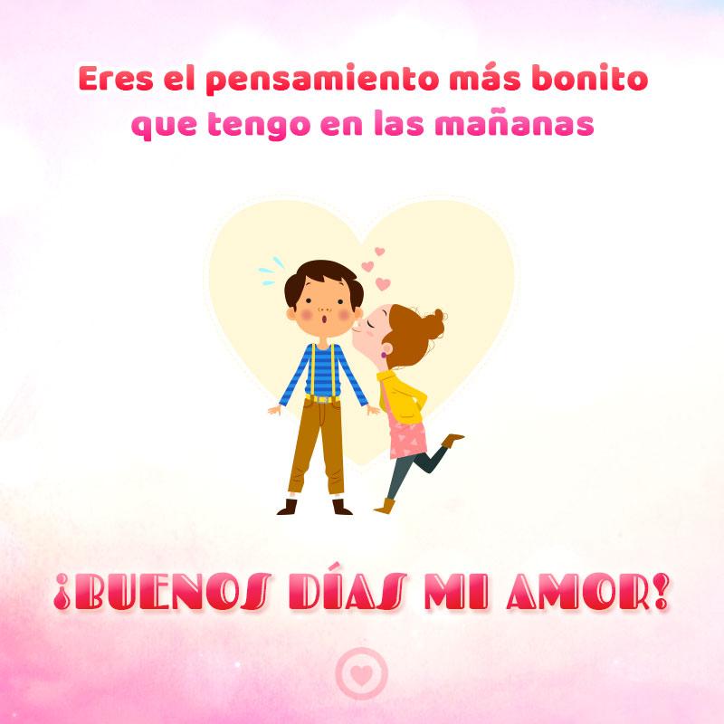 Buenos Dias Amor de Mi Vida con Frases