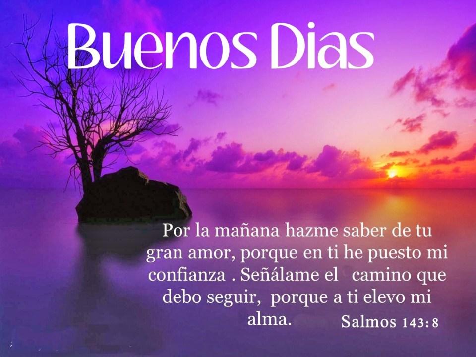 Buenos días bendiciones