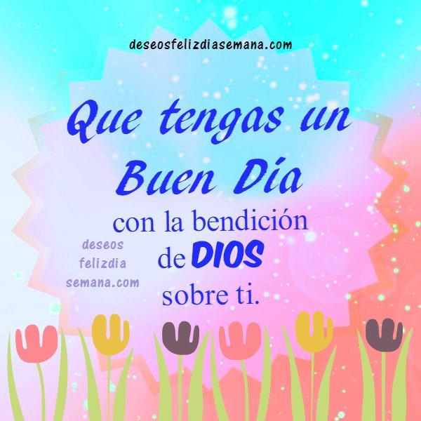 Imágenes con Frases de Buenos Días Cristianas