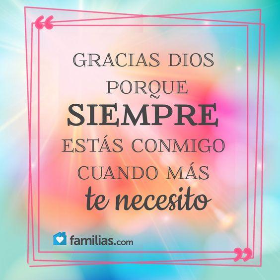 Tarjetas de agradecimiento a Dios