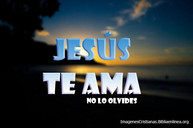 Imagenes Cristianas Jess Te Ama  Lindas y una en HD