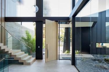 dentro casas modernas casa fuera imagenes imagen vestibulo toulon hefner william studio davies roger
