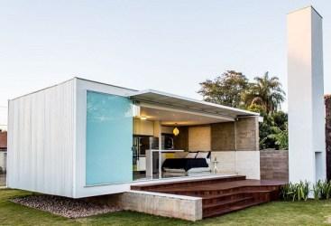 Fachadas De Casas Modernas Pequeñas De Un Piso Imagenes De Casas Del Futuro