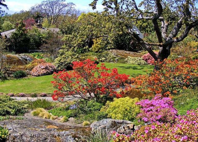 Abkhazis Jardín, Victoria, Canadá