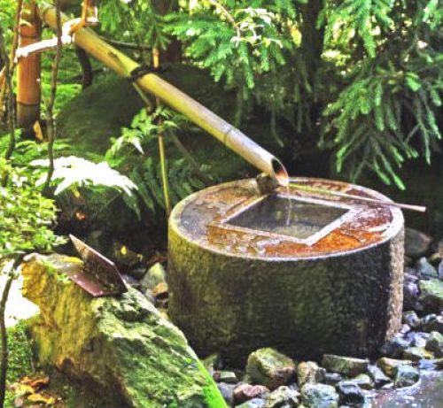 Fuentes para jardines estilo zen