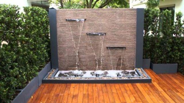 Imagenes con cascadas originales para jardines pequeños