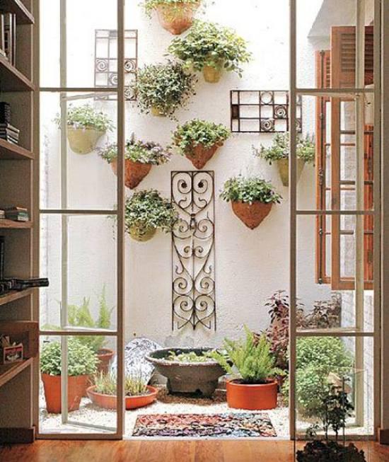 Imagenes con ideas para jardin interior de casa