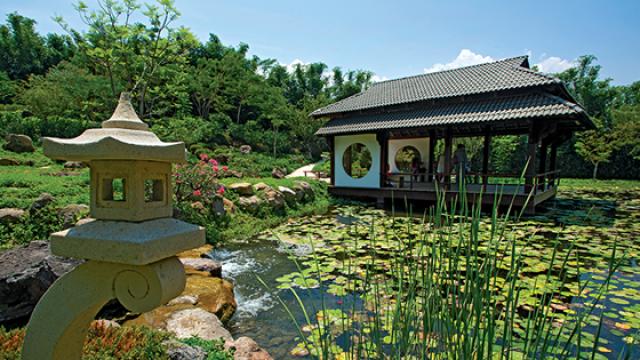 Jardin japones, jardines mas grandes del mundo Mexico