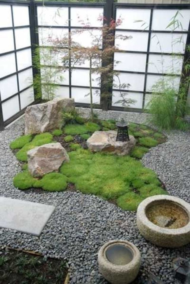 Jardin zen pequeño para el hogar