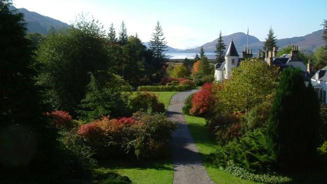 Jardines Attadale, Escocia