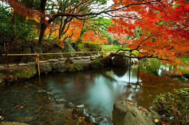 Koishikawa Korakuen jardín, Tokio