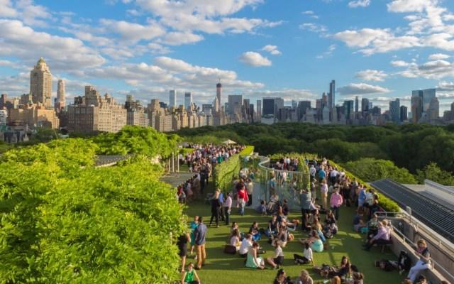 Terraza Jardin Museo Metropolitano de Arte Nueva York