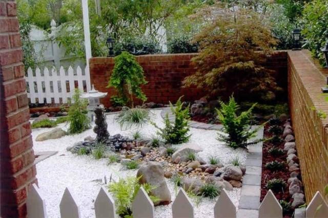 Un jardin zen en el patio de tu casa
