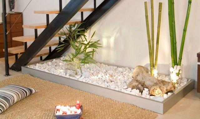 Un jardin zen interior
