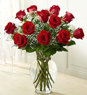 Foto de un ramo de rosas rojas para whatsapp