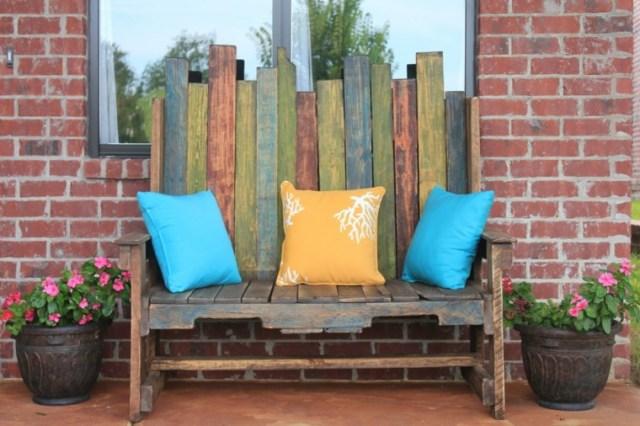 Fotos de muebles rusticos en el jardin