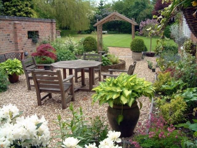 Imagenes De Jardines Decorados Con Muebles Rusticos
