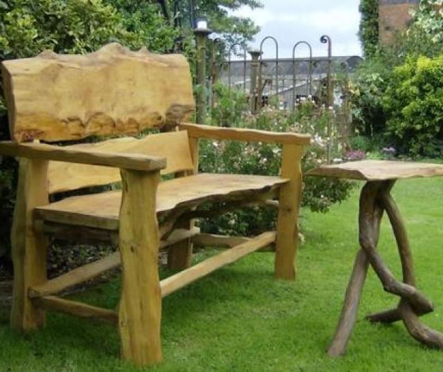 Imagenes De Muebles Rusticas Para El Jardin