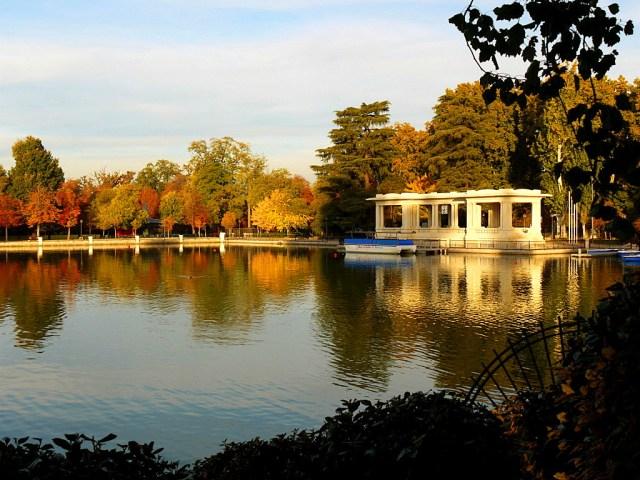 Imagenes Parque Del Retiro Jardines de Madrid