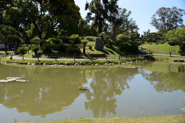 Lago jardin japones buenos aires argentina fotos