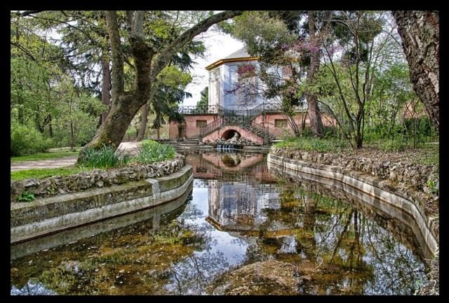 imagenes de jardines el capricho Madrid
