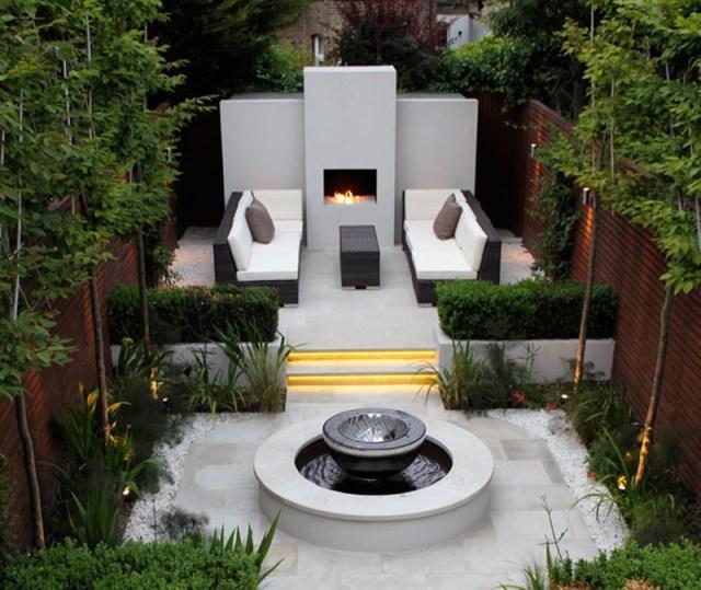 Imagenes diseños de jardines modernos
