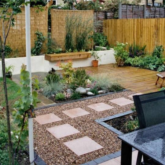 Imagenes hermoso jardin moderno