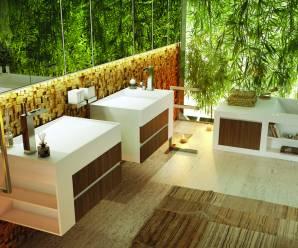 Imagenes decoracion de jardines interiores en baños