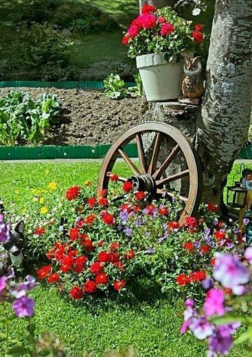Fotos con ideas de decoracion para jardines con flores for Ideas para jardines