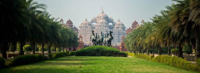 Fotos De Los Jardines De Yogi Hraday Kamal En India
