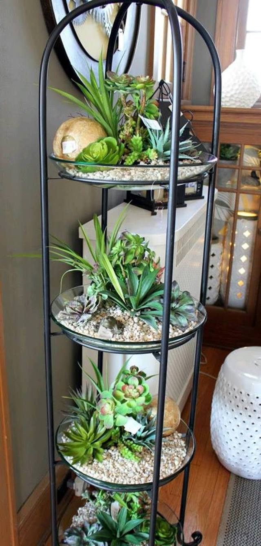 Ideas para realizar jardines verticales en tu hogar