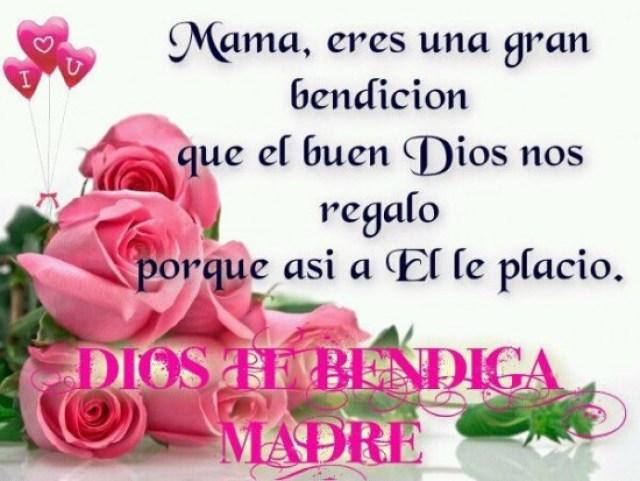 Imagenes de rosas rosadas con mensajes para el dia de la madre