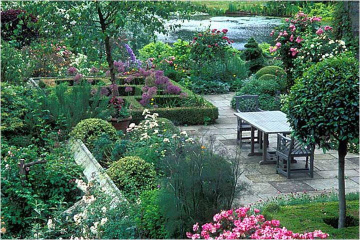 Imagenes del jardin gresgarth hall - Diseno de jardines fotos ...