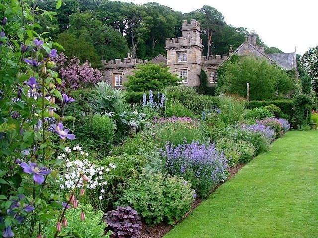 Imagenes del Jardin Gresgarth Hall