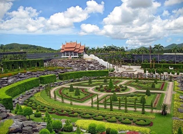 Imagenes del Suan Nong Nooch Jardin Tropical