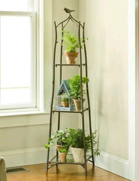 Jardines verticales en hogares